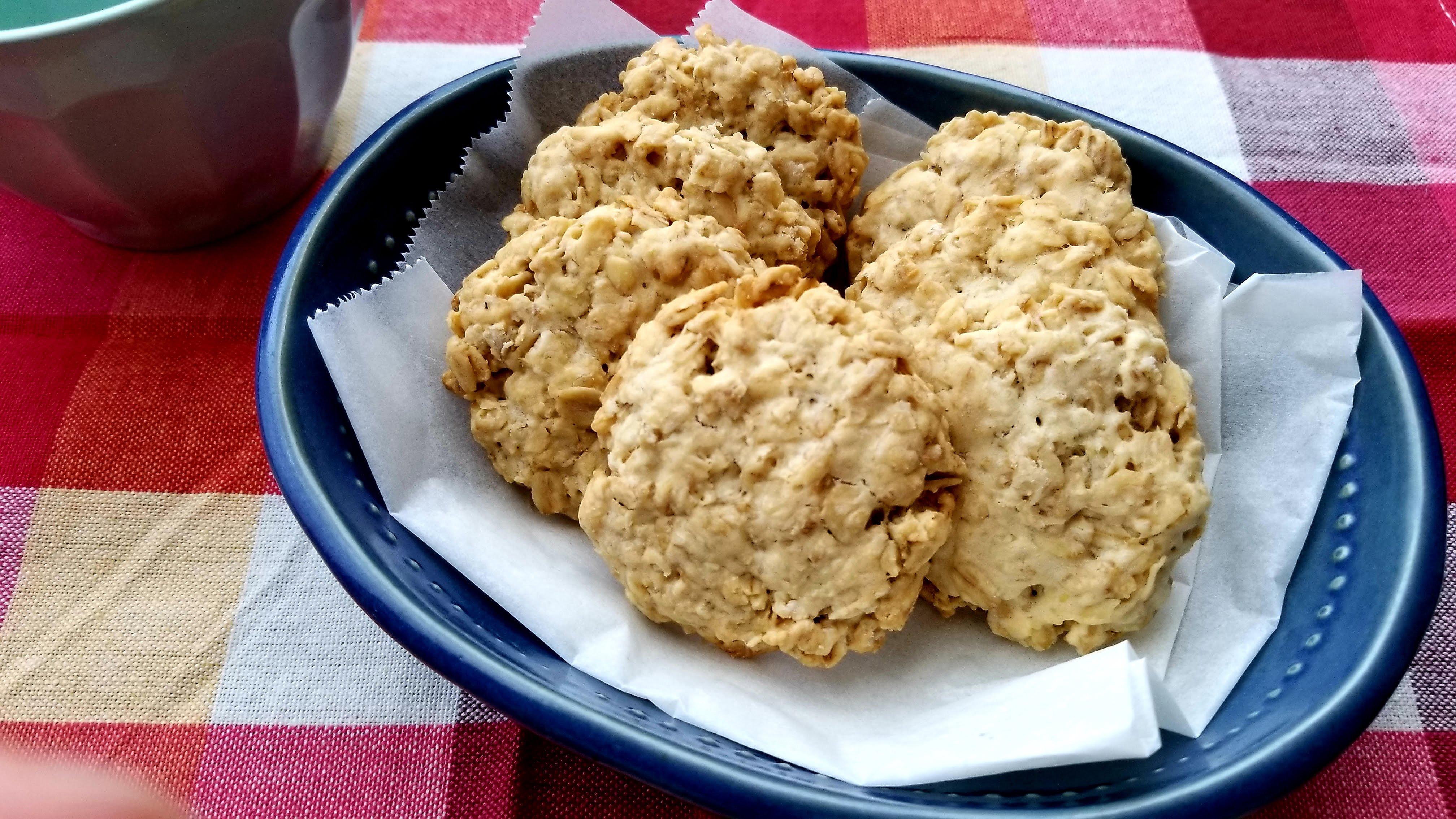 オートミールクッキー基本のレシピ